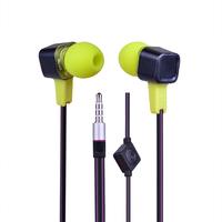 ULDUM colorful earphone headset with mic bass headphones for phone