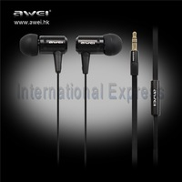 Free Shipping Perfect Quality Original Awei Earphone ES-100m awei earphone with stereo sound INE028