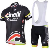Bike Cycling suit jersey shirt+bib shorts bicycle suit cool men riding sportswear