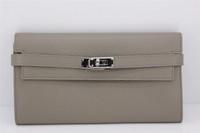 100% genuine leather wallet unisex lady purse fashion women long card  folder wallet high quality free shipping