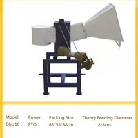 Chengda QMJ16 wood chipper