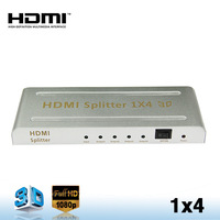 1X4 HDMI Splitter with 3D Support