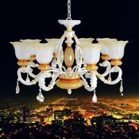 Lighting European Resin Crystal Chandelier Villa Hotel Home Furnishing Engineering Lamps (ds-011)