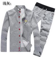 Brand sports 2014 Tracksuits Hoodie Men's Sport Suits Fashion Coats Jacket Set Pants Sportswear Brand Male sweatshirt CMR240