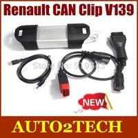 Free DHL!! 2014 Newest Renault CAN Clip V139 Diagnostic Interface Multiple Languages Renault CAN Clip V139 car Diagnostic tools