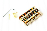 Golden Electric Guitar Broad Brimmed 6-Strings Bridge (High Quality And Inexpensive)