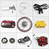 Free shipping! 48V 500W LED panel, Rear  wheel hub motor of electric bicycle conversion kit