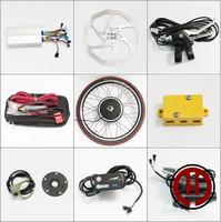 Free shipping! 36V 500W LED panel, Rear  wheel hub motor of electric bicycle conversion kit