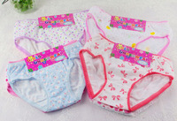 Guchi Wholesale 10pcs/lot Cute Design Girl Underwear Cotton Shorts Briefs For Children Kid, Underpants Knickers Free Shipping