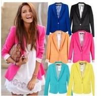 NEW blazer women jacket women coat women blazer suit foldable jackets women clothes suit one button shawl cardigan coat