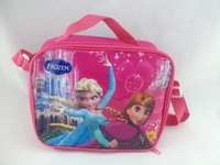 Neoprene Lunch Bag Time-limited Denim 2014 New Foreign Trade Spot Baobing Frozen Lunch Bag Aslant Children One Shoulder Box