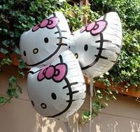 5pcs/lot newest hello kitty balloon hello kitty birthday party supplieshello kitty party favors balloons hello kitty party
