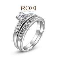 Roxi fashion jewelry austria crystal diamond set of ring quality jewelry   2010219290