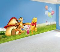 1Pcs Fashion  Lovely Cartoon Wall Sticker For Wall 50cm*70cm