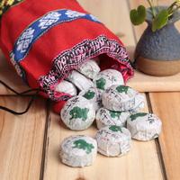 Free shipping Choice lotus leaf aroma Puer ripe tea mini Tuocha Slimming Tea yunnan menghai pu'er tea 40pcs With Gift Packing