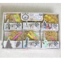 DIY Transparent leopard Loom Bnads yellow BANDS Kit Bracelet Set Children's Toy