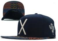 Hot! 2014 Summer Hats For Men Letter X Snapback Caps Fashion Women leisure Hat Baseball Cap Hip Hop Hats Free Shipping