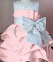 Free shipping 2014 girls  Princess dress baby grils sundress3colors  fashion  girlsdress suitble2-6years old