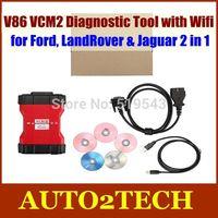 Free DHL!! 2014 New Release V86 VCM2 Diagnostic Tool with Wifi for Ford LandRover & Jaguar 2 in 1 Ford VCM2 V86 diagnostic tool