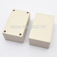General 1PCS Plastic Electronic Project Box Enclosure Instrument case DIY 80x50x32mm