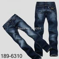 2014 New Fashion Famous Hip Hop Brand Designer Men Jeans Causal Denim Pants Black Plus Size 29-40 Free Shipping Hot Sale
