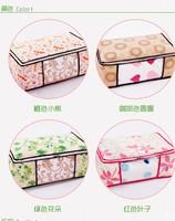 New Brand 3 Sizes  Duvet Bedding Clothing Pillows  Storage bag Zipper Handles Quilts bags Bedding  organizers