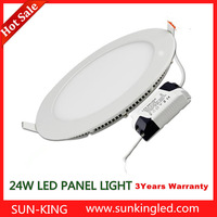 SUN-KING diameter 300mm 24W ultra thin led panel ceiling lamp with CE ROHS