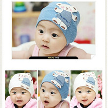LZ Jewelry Hut 2014 BB023 2014 New Cute Cartoon Bears Cotton Boys And Girls Baby Hat