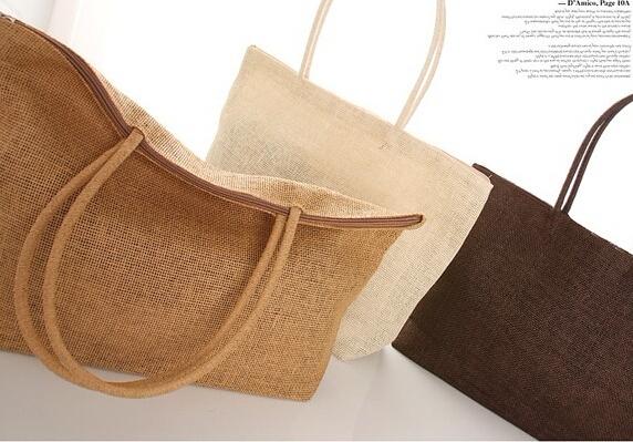 New fashion Womens Straw Summer Weave Woven Shoulder Tote Shopping Beach Bag Purse Handbag straw Beach Bags travel for vacation(China (Mainland))
