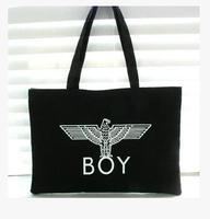 BIGBANG GD Zhi-Long bag with the money right shoulder bag cotton canvas bag boylondon Harajuku shipping