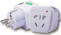 Electrical Plug & Socket European standard Power converter Electric socket  Electronic plugs Free shipping