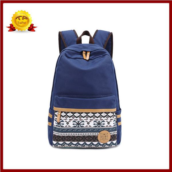 2014 di alta qualità donne tela zaino stampa preppy zaini stile studente sacchetti di scuola per gli adolescenti degli uomini le borse zaino