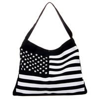 New foreign trade in Europe and America handbag shoulder bag cute striped canvas bag big bag fashion bag schoolbag Students