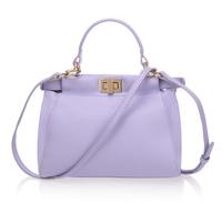 Top quality original brand peekaboo real leather lavender ambre tote handbag shoulder bag fashion gift free shipping wholesale