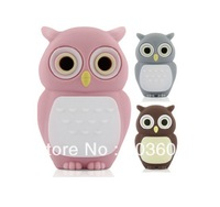 Novel Owl Shape USB 2.0 Flash Memory Pen Drive Sticks Disk Rubber 8GB 16GB 32GB 64GB