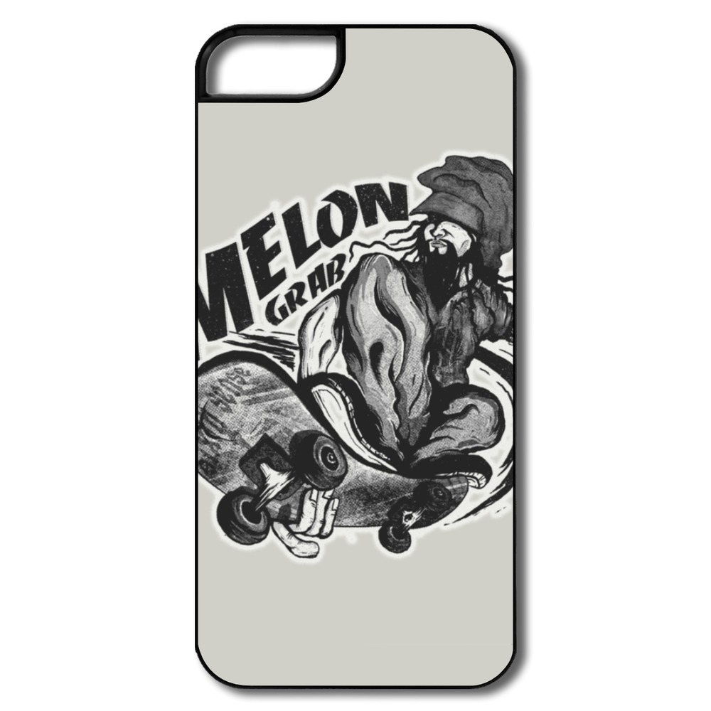 For Iphone Cover 5s Designed Funny Skate Melon Party Logos Covers For Iphone 5s Cheap(China (Mainland))