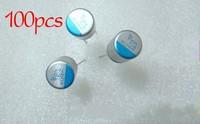 Free shipping, 100pcs/lot 16v 470uf 10x12 Solid capacitor brand new original