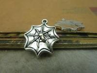 15pcs 18x21mm Antique silver The spider  Charm Pendant C4844
