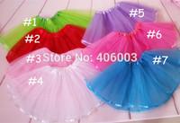2014 summer tutu girls ballet tutu skirts 2layer tulle ribbon new baby tutu