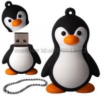 Lovely Cartoon Penguin Shape USB 2.0 Memory Stick Thumb Drive U Disk 1GB 2GB 4GB 8GB 16GB