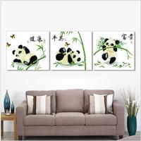 Panda cross stitch kit animal cross-stitch set DIY handmade needlework wall home decor