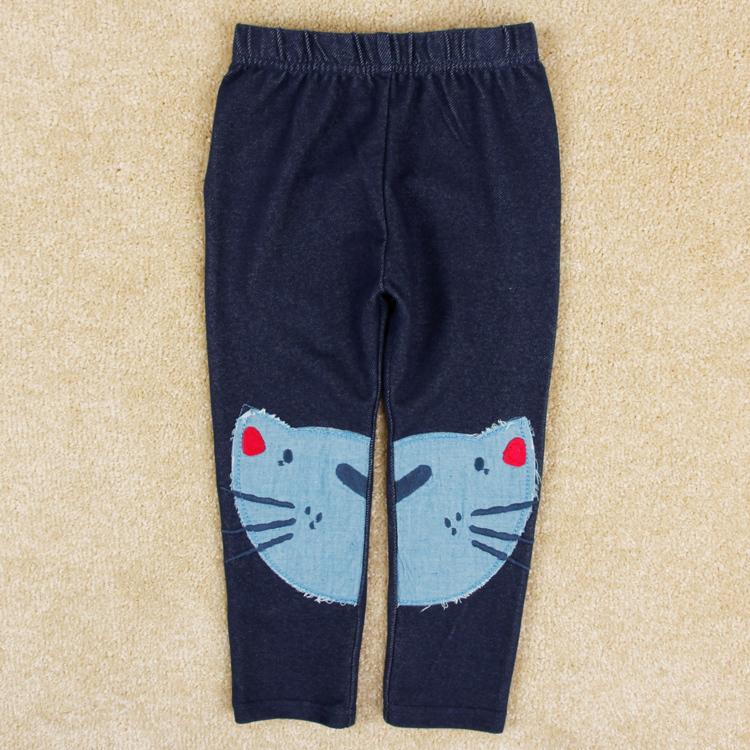 2014 new fashion nova boy pants kids wear spring autumn clothing printed cat boys long pants clothing for children(China (Mainland))