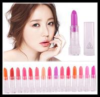 15pcs/lot 3CE Naked makeup lipsticks Hot SWEET multicolor M Limited lipstick high quality sample lip balm ME59