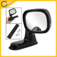 Auto Car Adjustable Right Door Side Rear Mirror Car Blind Spot Mirror Car Rear Blind Spot Mirror Car Styling Black Plastic 1Pc