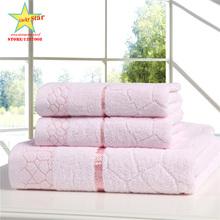 Genuine Bath Towel Set 70cm*140cm & 2*34cm*75cm 100% cotton towel bath towel piece set face towel wholesale(China (Mainland))