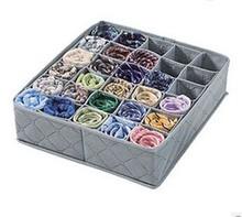 30 celular armario ropa interior sujetador organizador caja de almacenamiento lazos de bambú cajón armario cuadro divisor(China (Mainland))