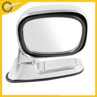 Auto Car Right Side Assistant Rear View Mirror Right Blind Spot Mirror Silver Tone Plastic Shell Auto Blindspot Mirror 65 x 81mm