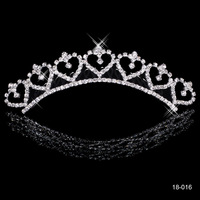 2014 In Stock Hot Sale Alloy Shining Crown Wedding Bride Tiaras Fashion Crowns For Bridal Hair Wedding Hair Accessories
