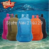 Outdoor Sport Hiking Camping Waterproof 30L Travel Backpack Daypack Shoulder Bag Nylon fold backpack