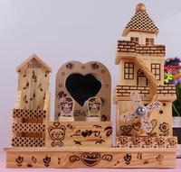 octave villain dynamic rotation cheng bao wooden windmill music box